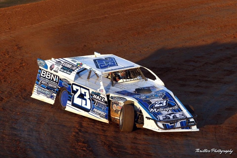 Robertson wraps up Louisiana swing with a pair of feature starts